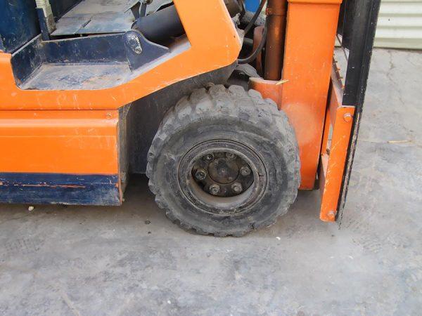 چرخ تویوتا برقی 2.5 تن