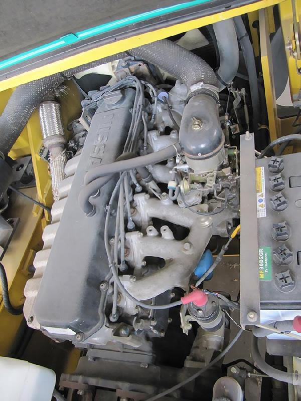 موتور بنزینی لیفتراک 6 تن بنزینی کوماتسو