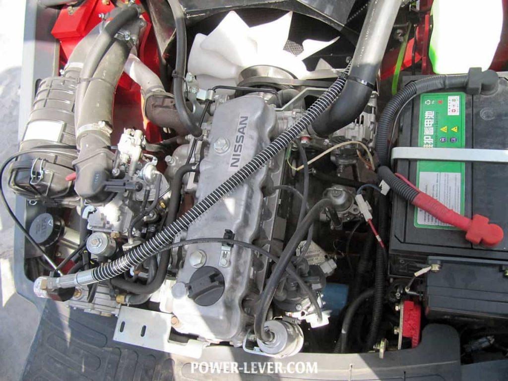 موتور لیفتراک 3.5 تن دوگانه جک
