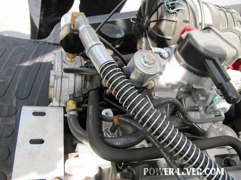 رگولاتور گاز لیفتراک 3.5 تن دوگانه جک