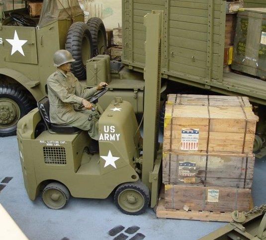 لیفتراک اولیه در جنگ جهانی