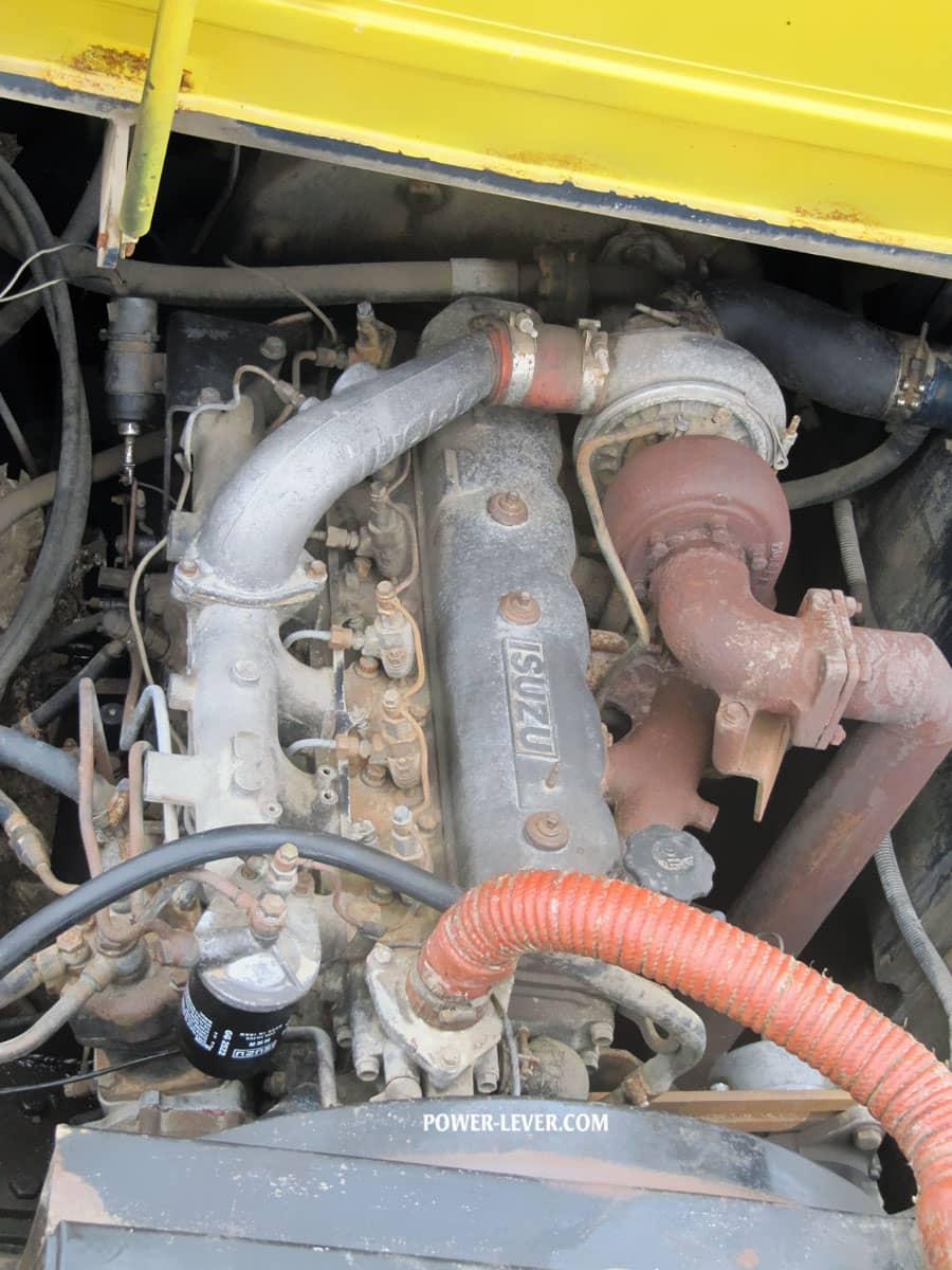 موتور ایسوزو لیفتراک 25 تن