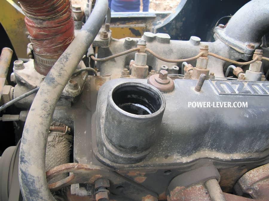 بخار موتور لیفتراک