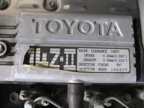 موتور لیفتراک 5 تن تویوتا